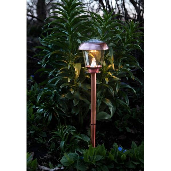 Záhradné svetlo Solar Energy Path Light Slim Rose