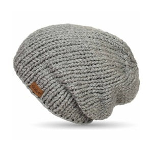 Ručne pletená čapica DOKE Grey Beanie