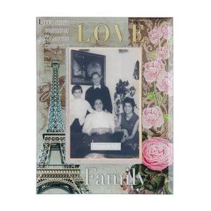 Fotorám Love Family, 17x22 cm