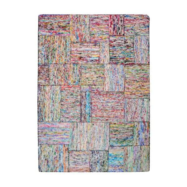 Koberec z recyklovaného hodvábu Silk Lane Multi, 160x230 cm