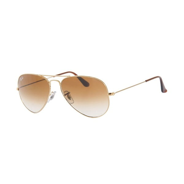 Slnečné okuliare Ray-Ban Aviator Caramel Gold