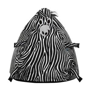 Detský interiérový sedací vak KICOTI Zebra