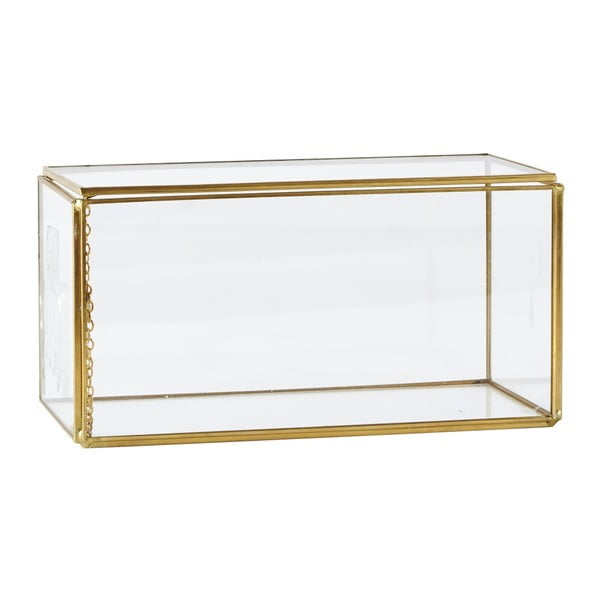Úložný box KJ Collection Antique Brass, 10,5 cm