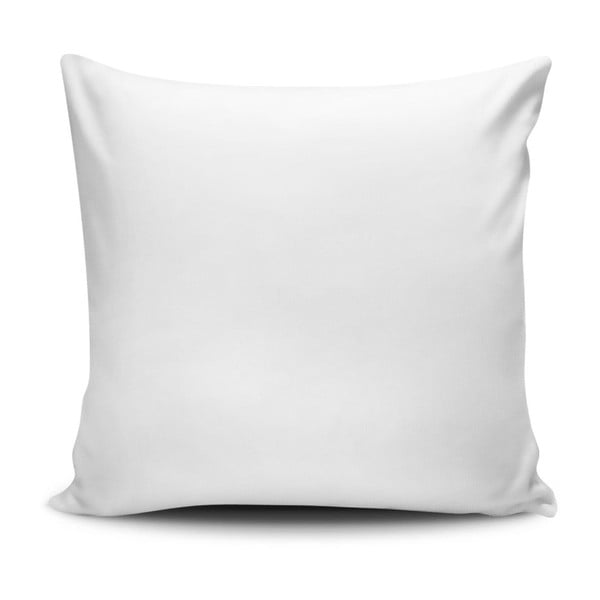 Vankúš s prímesou bavlny Cushion Love Azulo, 45 × 45 cm
