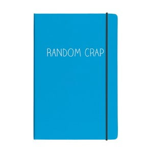 Zápisník A5 Happy Jackson Random Crap