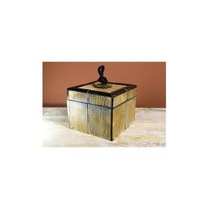 Krabička s vrnákom z rohoviny India