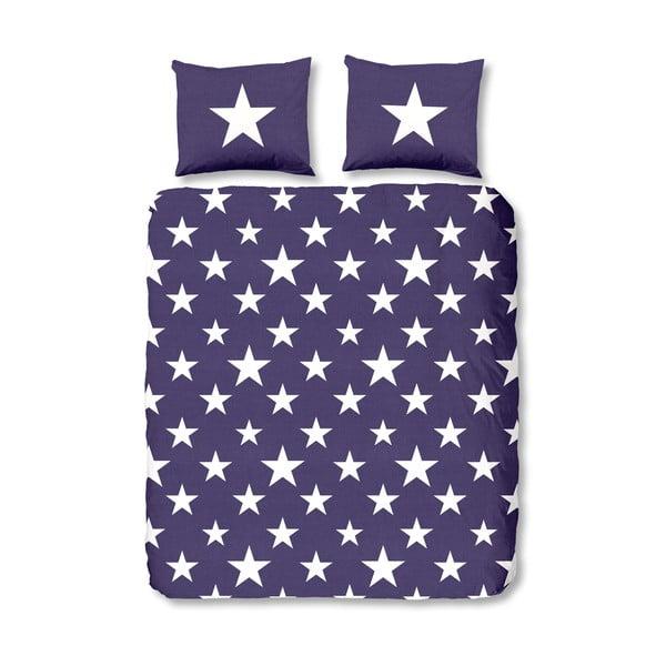 Obliečky Stars Purple, 140x200 cm