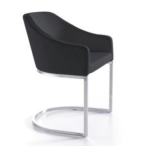 Čierna jedálenská stolička Ángel Cerdá Juanita