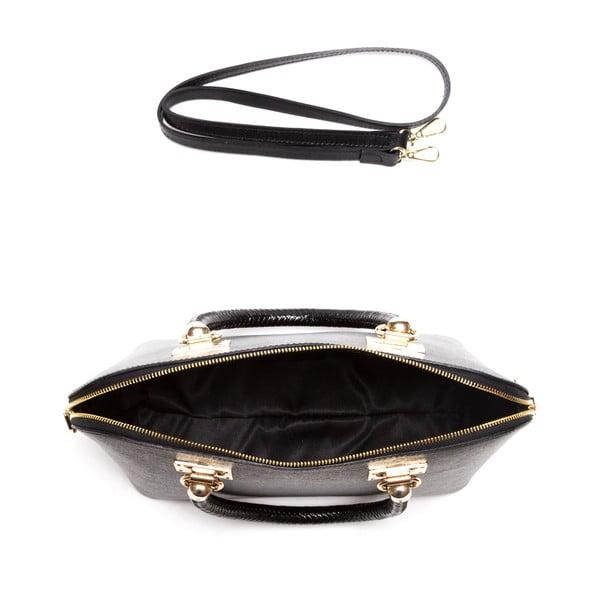 Kožená kabelka Felisa, čierna