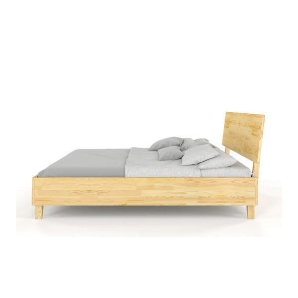 Dvojlôžková posteľ z masívneho borovicového dreva SKANDICA Viveca, 140 x 200 cm
