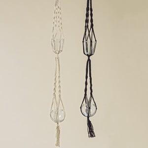Sada 2 pletených závesných dekorácií Boltze Makrame
