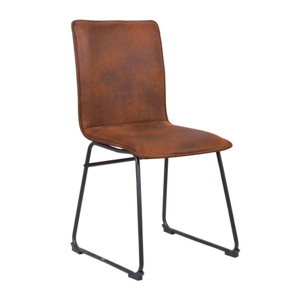 Hnedá stolička Mauro Ferretti Metropolitan Easy