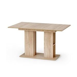 Rozkladací jedálenský stôl v dekore dubového dreva Halmar Kornel, dĺžka 130 - 170 cm
