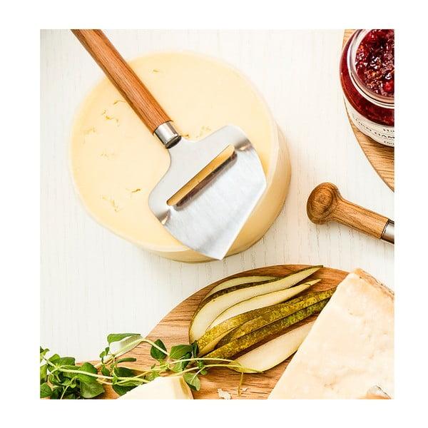 Plátkovač syra Oval Oak Sagaform