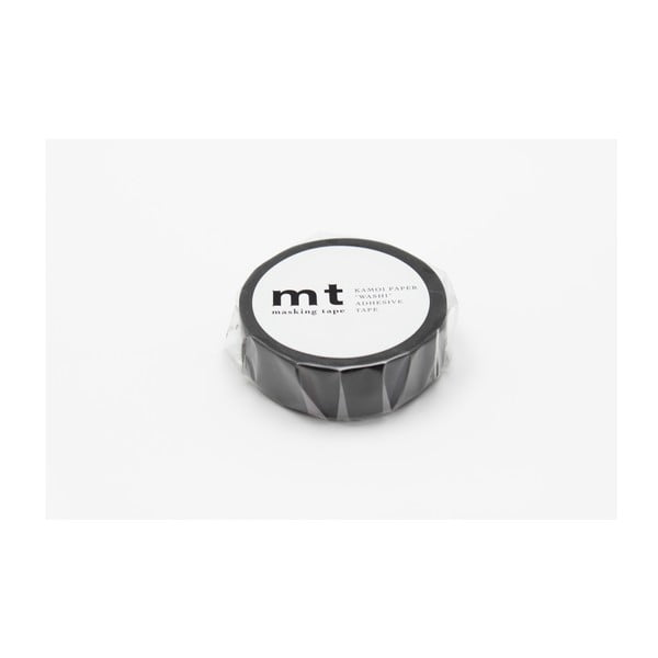 Čierna washi páska MT Masking Tape Uni