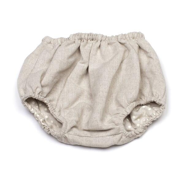 Obojstranné nohavičky na plienky Polka Dot, od 9 do 12 mesiacov