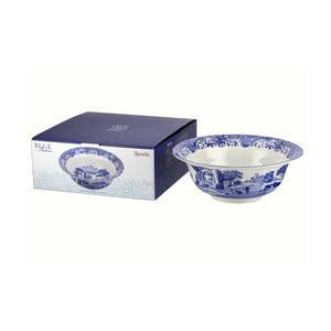 Bielo-modrá porcelánová miska Spode Blue Italian