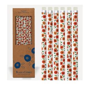 Sada 6 pasteliek U Studio Design Apricots