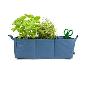 Polyesterový kvetináč Herbie, modrý