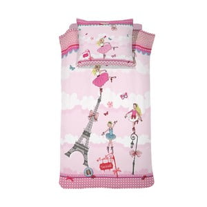 Bavlnené obliečky Cinderella Ballerina Girl, 140×200cm