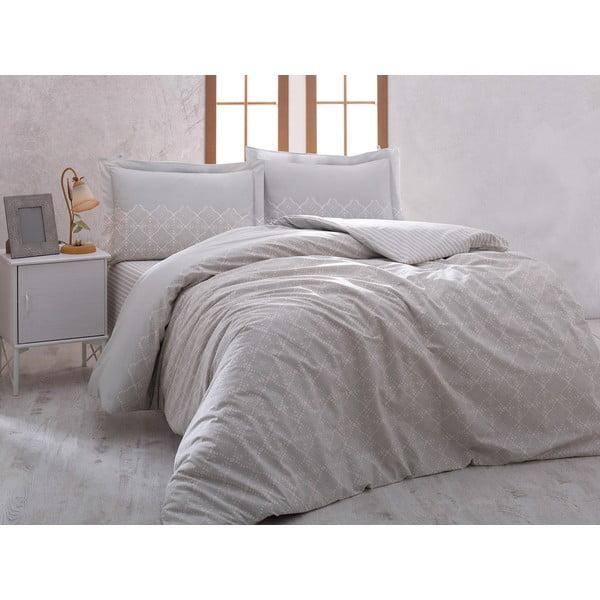 Obliečky Grey Elegancia s plachtou, 160x220 cm