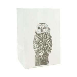 Sada 2 papierových obalov na sviečku Novoform Owl