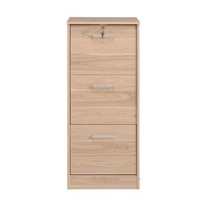 Zásuvky v dekore dubového dreva Parisot Bruay