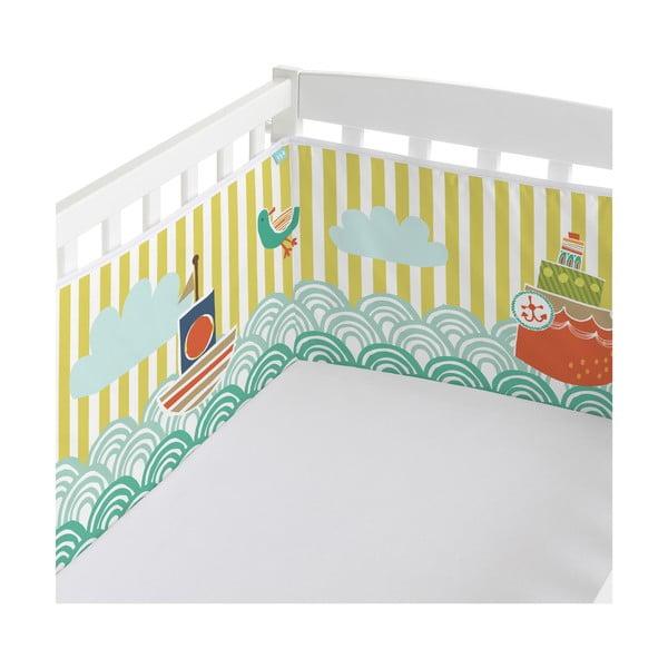 Výstelka do postele Ahoy There, 70x70x70 cm