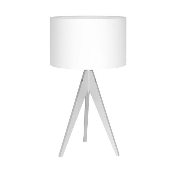 Stolná lampa Artist White/White, 40x33 cm