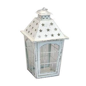 Kovový lampáš Stars, 17x33x17 cm