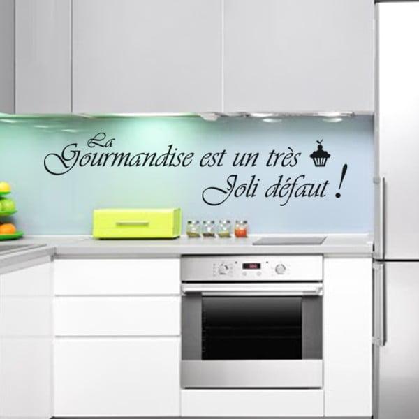 Samolepka La gourmandise