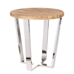 Odkladací stolík Silvy, Ø49 cm