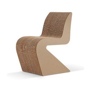 Kartónová stolička Amanda Natural