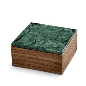 Úložný box s mramorovým vrchnákom NORDSTJERNE, 12,5 x 12,5 cm