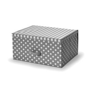 Sivý úložný box Cosatto Trend, 60×45cm