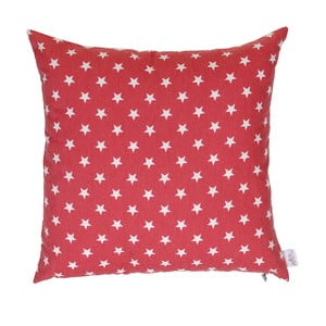 Červená vianočná obliečka na vankúš Apolena Shine Sky, 43 x 43 cm