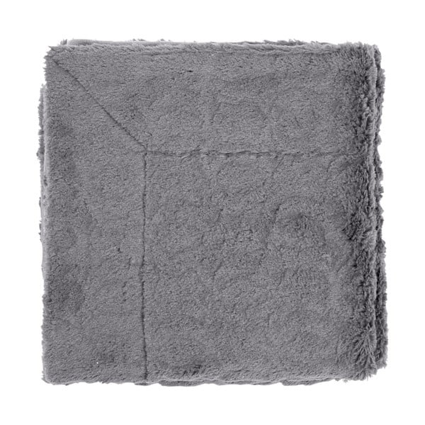 Pléd Jetra Dark Grey, 130x180 cm