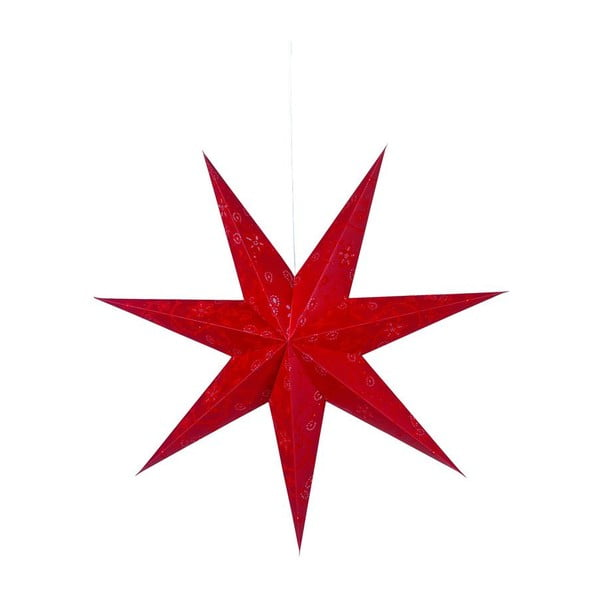 Svietiaca hviezda Aratorp Red, 100 cm