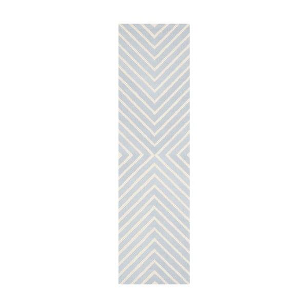 Vlnený koberec  Safavieh Prita, 76 x 243 cm