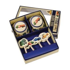 Set na zdobenie cupcakes Rex London Vintage Transport