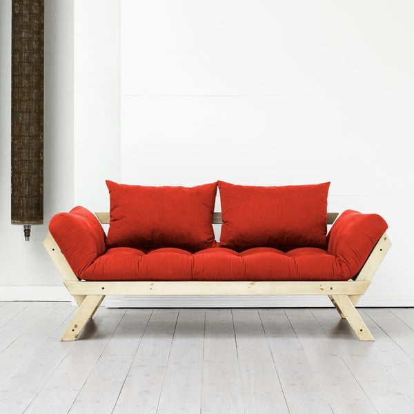 Pohovka Karup Bebop Natural/Red
