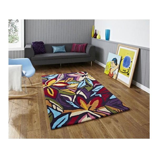 Koberec Hongkong Dark Multi, 150x230 cm