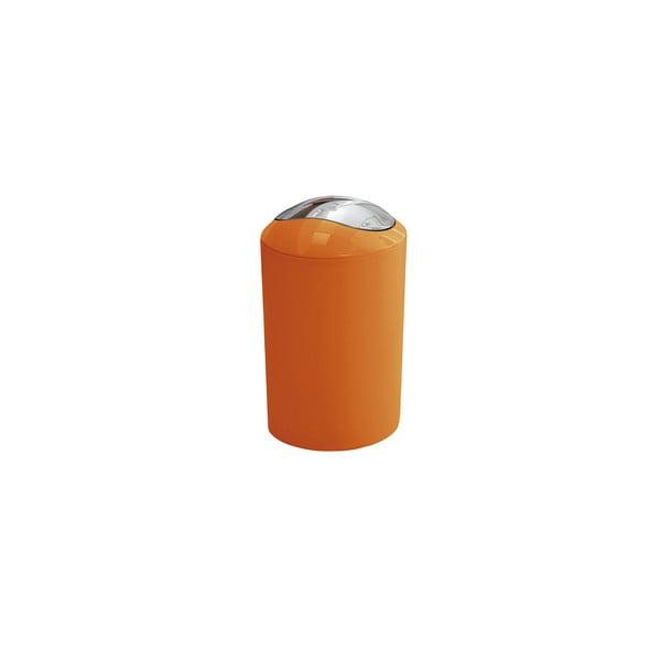Odpadkový kôš Glossy Orange, 3 l