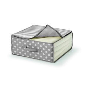 Sivý úložný box na prikrývku Cosatto Trend, 45×45cm