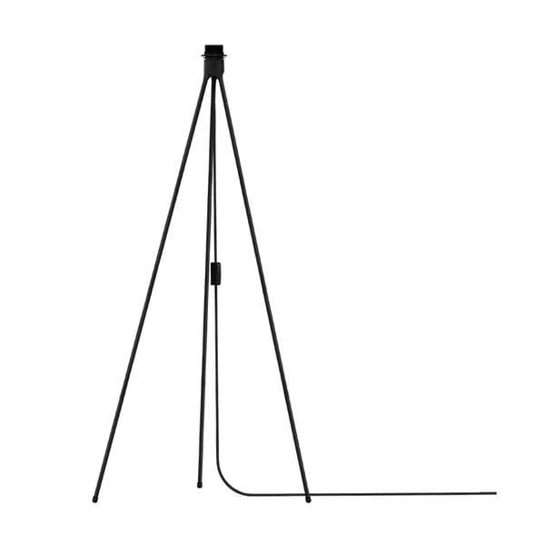 Čierny stojan tripod na svietidlá VITA Copenhagen, výška 109 cm