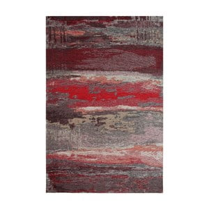 Behúň Eco Rugs Red Abstract, 80 × 300 cm