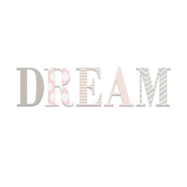 Dekoratívny nápis Dream Art