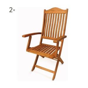 Sada 2 rozkladacích stoličiek Crido Consulting Humenna