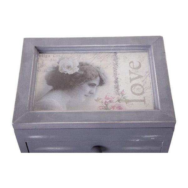 Box so šuplíkmi Cofanetto, 11x18x14 cm