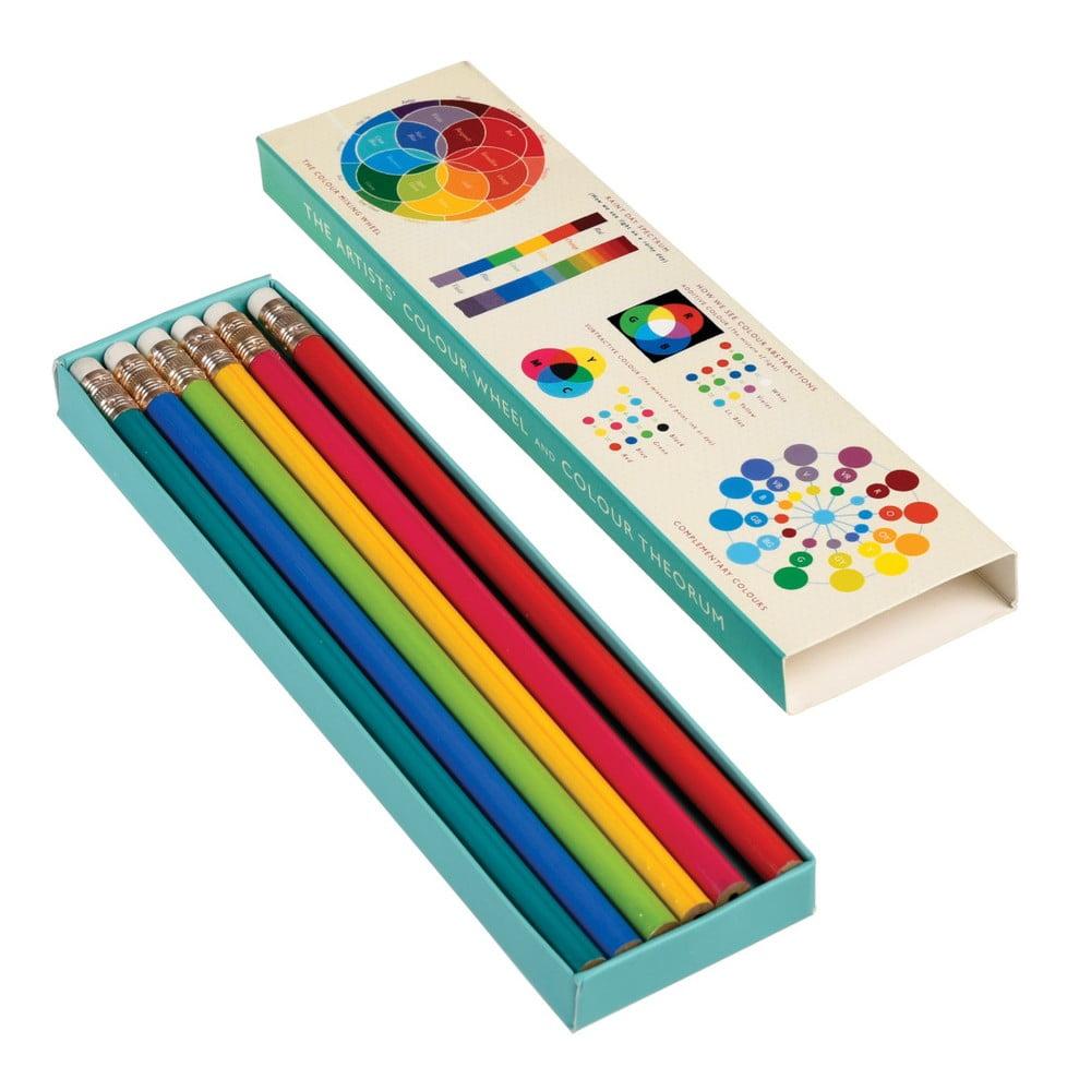 Sada 6 ceruziek Rex London Wheel